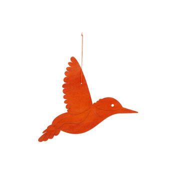 Cosy @ Home Kolibri Hanger Orange 29xh22cm Holz