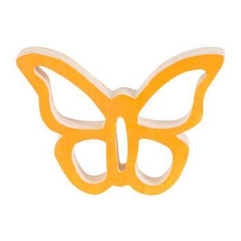 Cosy @ Home Schmetterling Hanger Orange 10x7xh2cm Ho