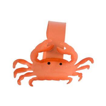 Cosy @ Home Serviettenring Crab Orange D4cm Metall