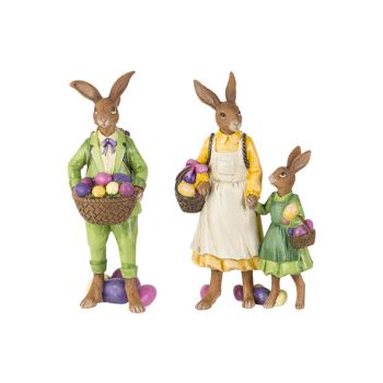 Cosy @ Home Osterhase Green With Child 2 Types Gelb 8,4