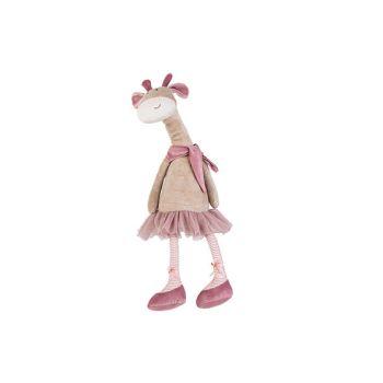 Cosy @ Home Giraffe Long Legs Beige Rosa 16x13xh55cm