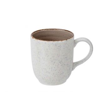 Cosy & Trendy Granite Taupe Becher 36cl D8,5xh10cm