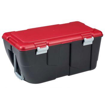 Keter Discover Box 80l Black-red 80.5x43x38cm
