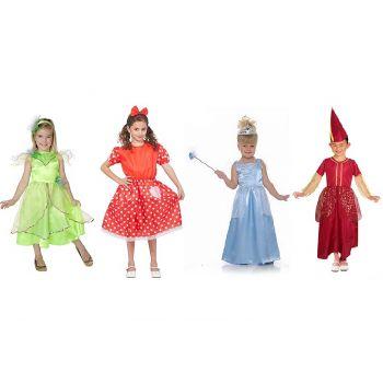 Goodmark Carnival Costume Girls 4 Types S 110-146