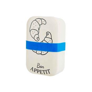 Cosy & Trendy Lunchbox Bon Appetit Cream 18x12,2xh6cm