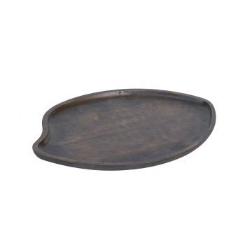 Cosy & Trendy Serving Plate M Wood Antique 24x16.5x1.2