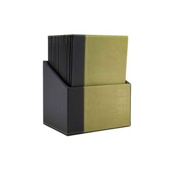 Securit Trendy Menuhalter Grun 34x24,6xh,4cm A4