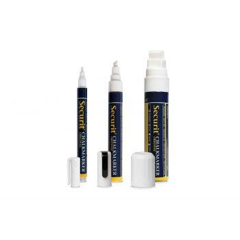 Securit Chalkmarker Liquid Set8 Multi-color