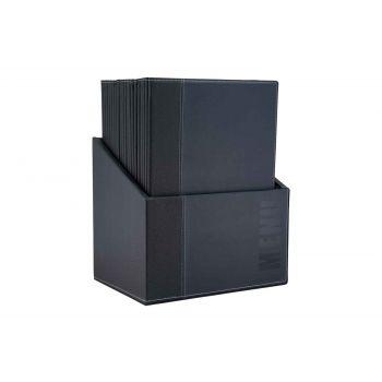 Securit Trendy Menuholder Blue 25.3x17.7x0.8cm