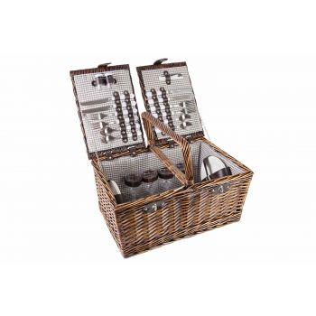 Cosy & Trendy Picknickkorb 4p Cutlery-plates-glasses
