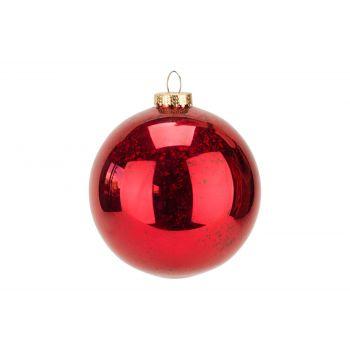 Cosy @ Home Weihnachtskugel Bordeaux Kunststoff 15x1