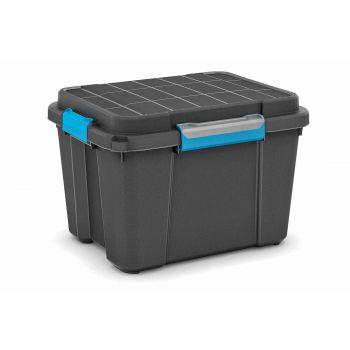 Kis Scuba Box M Black 45l 39x49.5x34cm