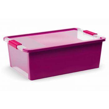 Kis Bi-box Aufbewahrbox M Violet26l 55x35