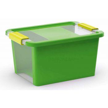 Kis Bi-box Aufbewahrbox S Grun 11l 36,5x26xh