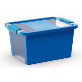 Kis Bi-box Aufbewahrbox S Blau 11l 36,5x26xh