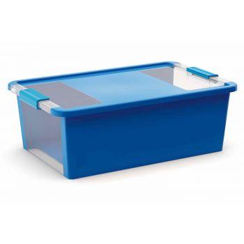 Kis Bi-box Aufbewahrbox M Blau 26l 55x35xh19