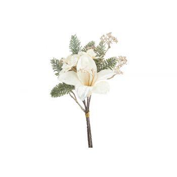Cosy @ Home Bukett Lily Hydrangea Cream 19x11xh35cm