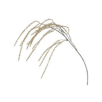 Cosy @ Home Zweig Amaranthus Glitter Cream 15x5xh82c