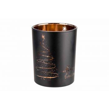 Cosy @ Home Copper Teelichthalter Merry Christmas Sc