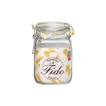 Bormioli Fido Einkochglas 1l Carre