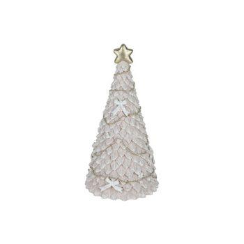 Cosy @ Home Weihnachtsbaum Glitter Hellrosa 10x10xh2