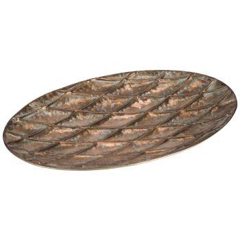 Cosy @ Home Schale Set2 Antique  Kupfer 55,5x35xh4,5
