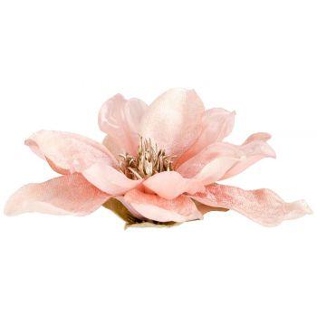 Cosy @ Home Klammer Magnolia Hellrosa 15x15xh6cm Kun