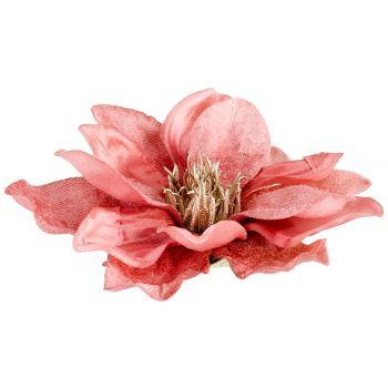 Cosy @ Home Klammer Magnolia Altes Rosa 15x15xh6cm K