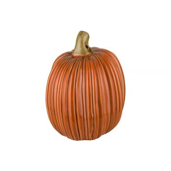 Cosy @ Home Kurbisse Stripes Orange 10,5x8,5xh11,5cm