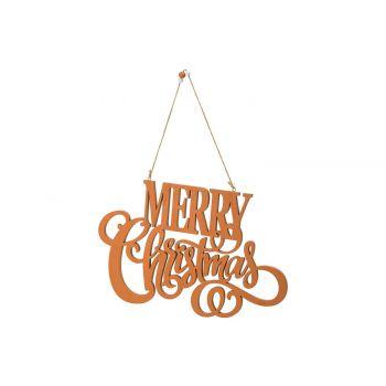 Cosy @ Home Hanger Merry Christmass  Zimt 34,5x22,5x