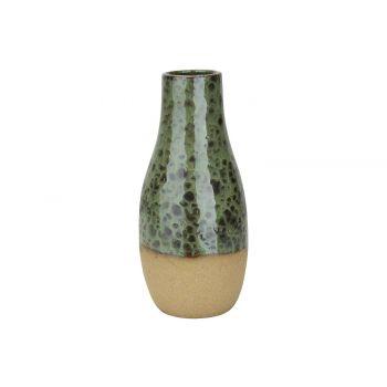 Cosy @ Home Vase Grun 13x13xh28cm Rund Keramik