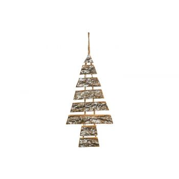 Cosy @ Home Hanger Christmas Tree Snowy Natural 26x2