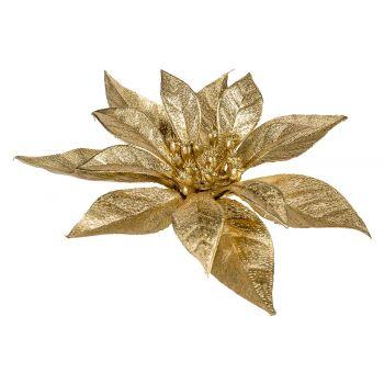 Cosy @ Home Weihnachtsstern Klammer Metallic Glitter