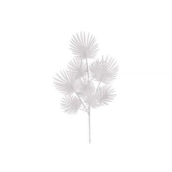 Cosy @ Home Farn Zweige Glitter Weiss 17x1xh63cm Kun
