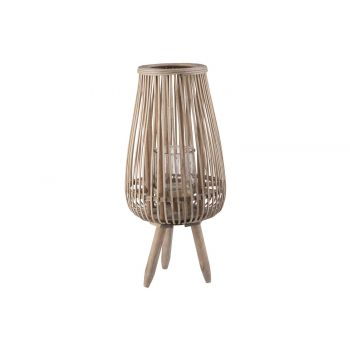 Cosy @ Home Laterne Alta Natural 25x25xh59cm Rund Ho