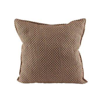 Cosy @ Home Kissen Braun 45x45xh10cm Textil