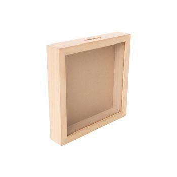 Cosy & Trendy Spardose 20x20xh4cm Holz