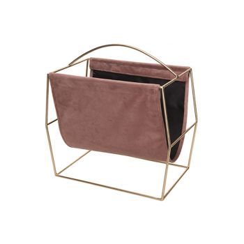 Cosy @ Home Zeitungsstander Champaign Rosa 37x20xh37