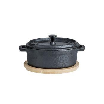 Cosy & Trendy Mini Caster Iron Pot Oval