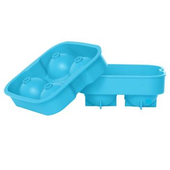 Cosy & Trendy Eiswurfelhalter Ballen Blau 4stk D4.5cm