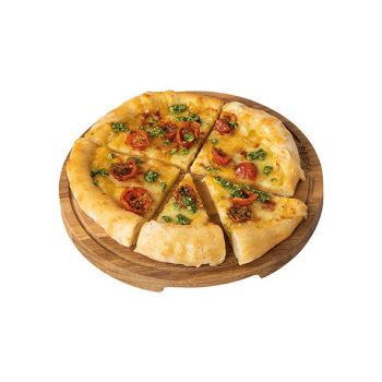 Boska Pizza Servierbrett M D29xh2cm Eiche Rund