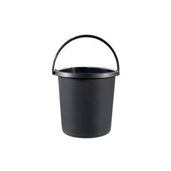 Curver Essentials Eimer Anthrazit 10l D29,5cm