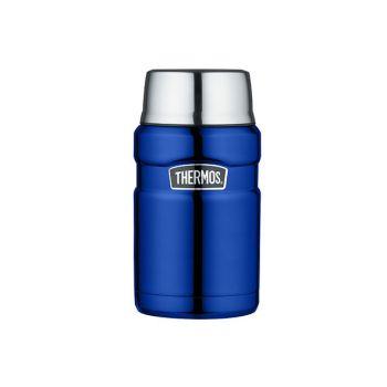 Thermos King Food Jar  Metalic Blue 710ml