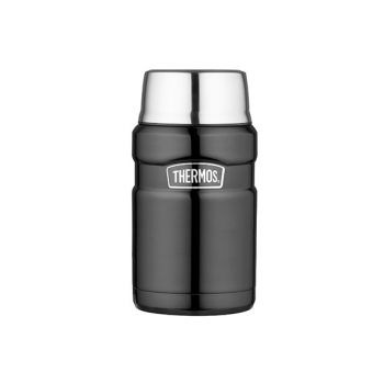 Thermos King Food Jar  Xl Space Grey 710ml