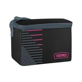 Thermos Value Kuhltasche Black_rosa 4l