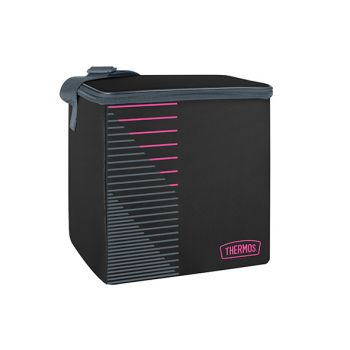 Thermos Value Kuhltasche Black_rosa 16l