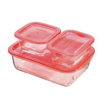 Luminarc Keep 'n Box Dose Korallen Set 3
