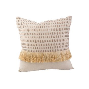 Cosy @ Home Kissen Straw Natural 45x45xh10cm Textil