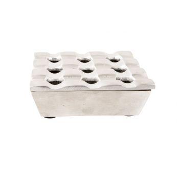 Cosy & Trendy Square Aschenbecher 11x11xh4cm Mat