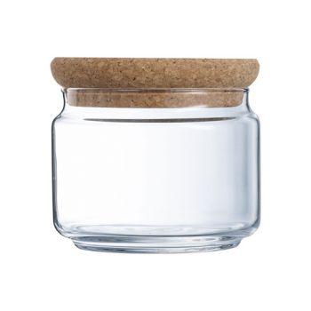 Luminarc Pure Jar Vorratstopf Ol50 Lid Cork